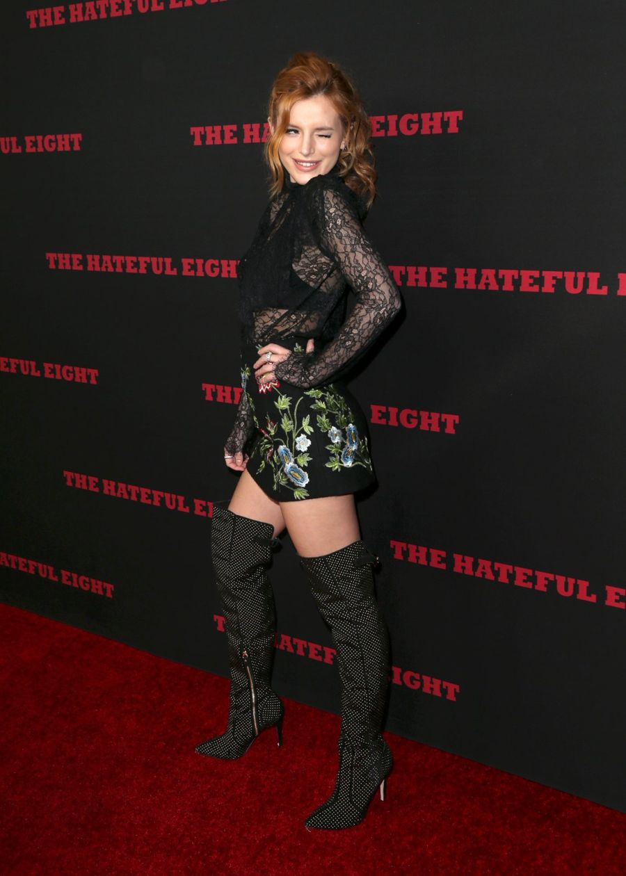 "Bella Thorne ""The Hateful Eight"" Premiere in Hollywood"