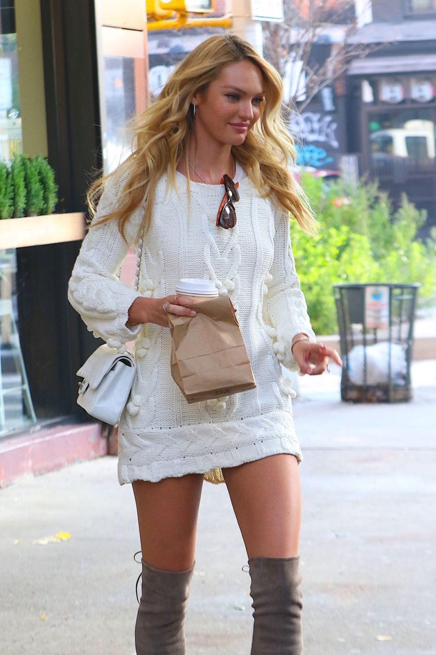 Candice Swanepoel - Visits 'The Today Show' in NYC