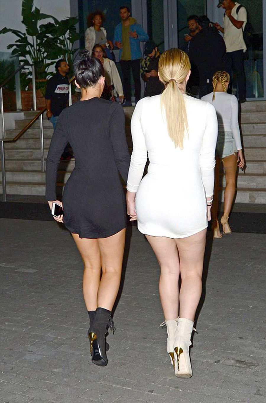 Kylie Jenner and Hailey Baldwin Out in Miami
