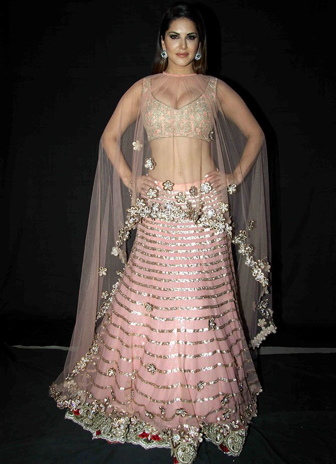 Sunny sizzles in bridal finery