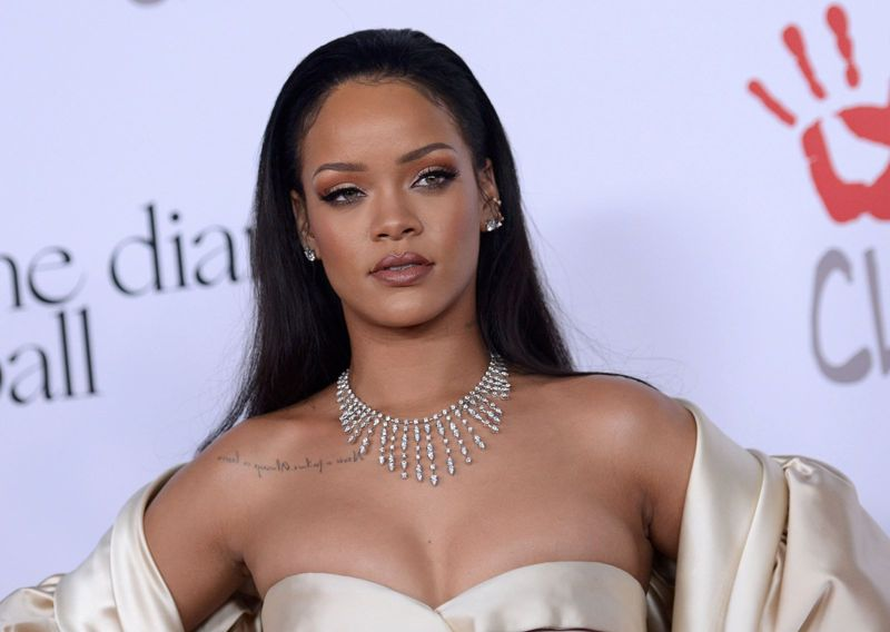 Rihanna - 2nd Annual Diamond Ball in Santa Monica