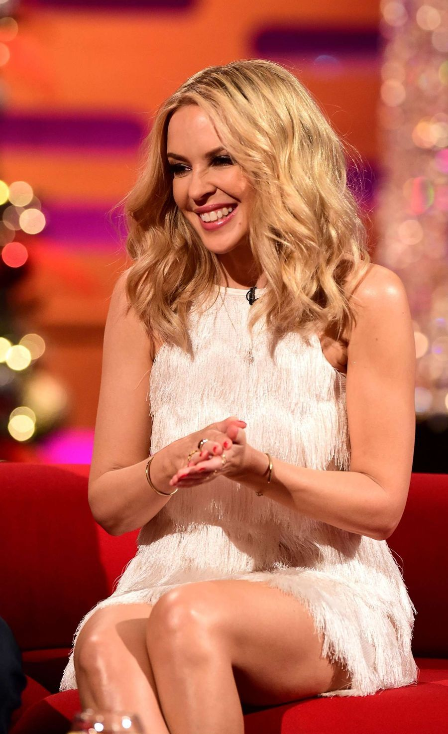Kylie Minogue - The Graham Norton Show in London