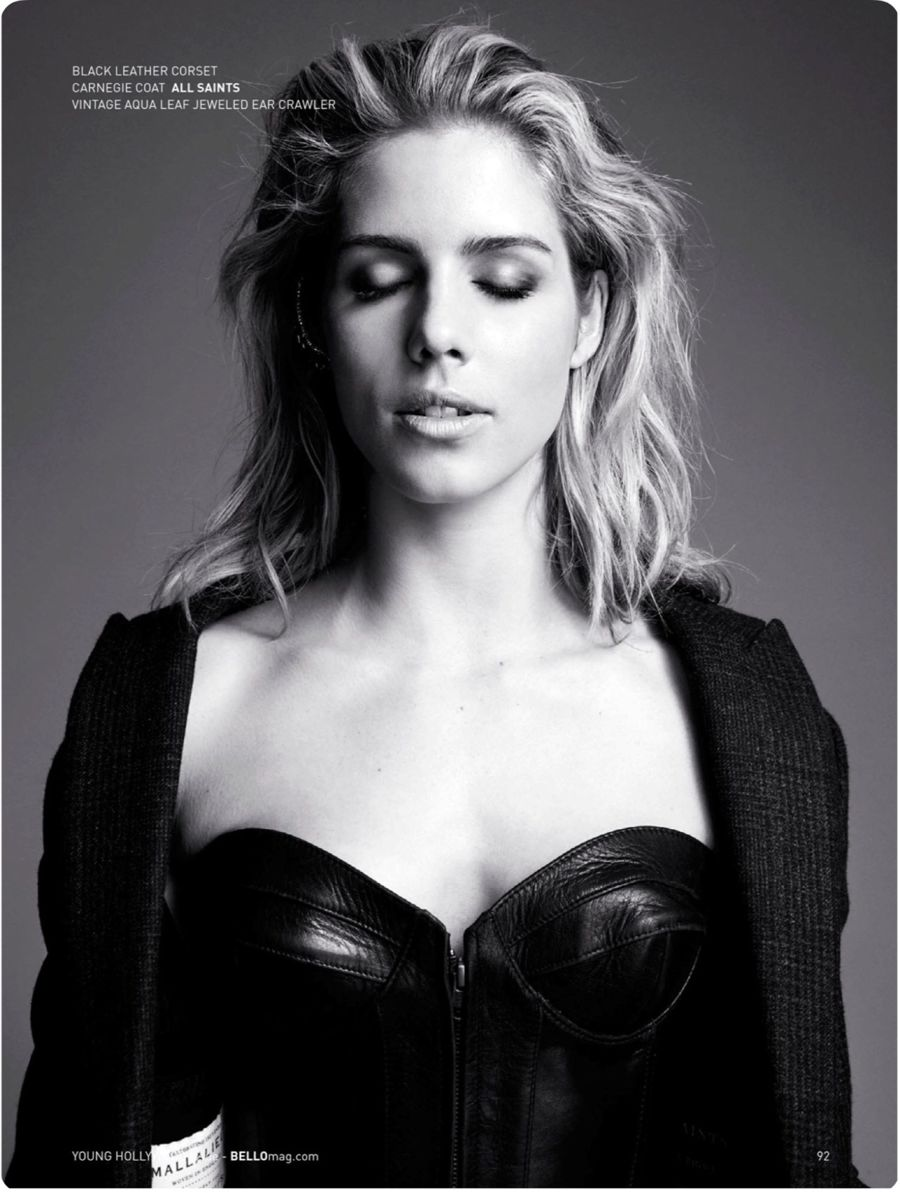 Emily Bett Rickards - BELLO Magazine (December 2015)