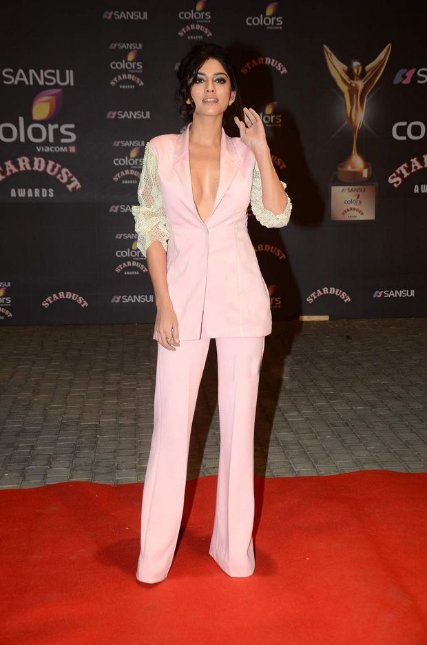 Sapna Pabbi sizzles in a bold dress at Stardust Awards