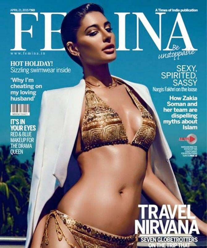 The Hottest Cover Girl of 2015