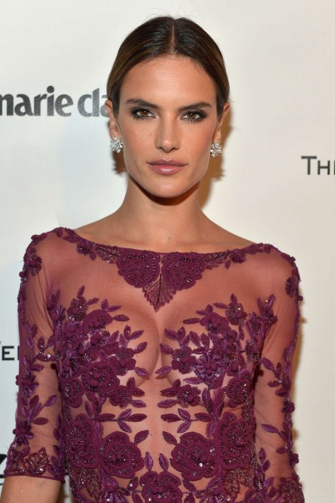 Alessandra Ambrosio Golden Globes Party in Beverly Hills