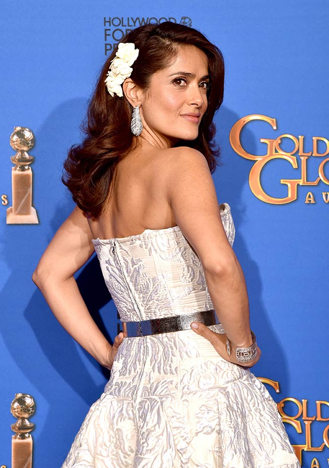 SEXIEST backs at Golden Globes 2015