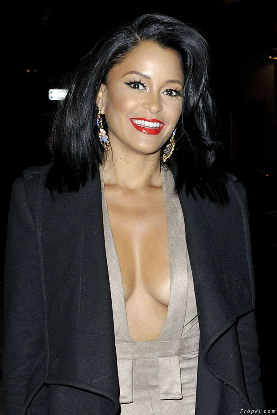 Claudia Jordan at Watch What Happens Live