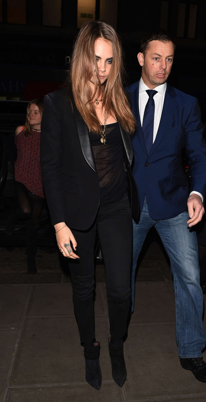 Cara Delevingne Night Out in London