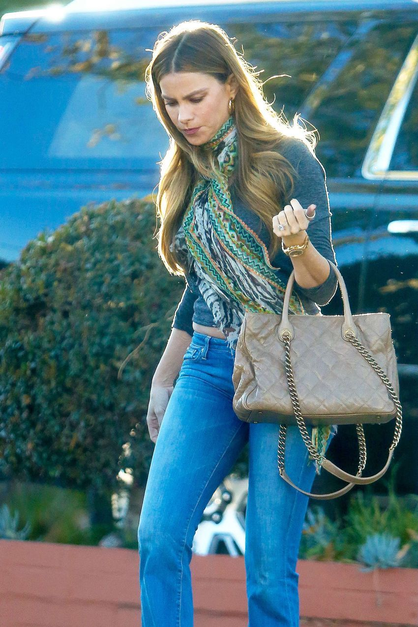 Sofía Vergara out in Los Angeles