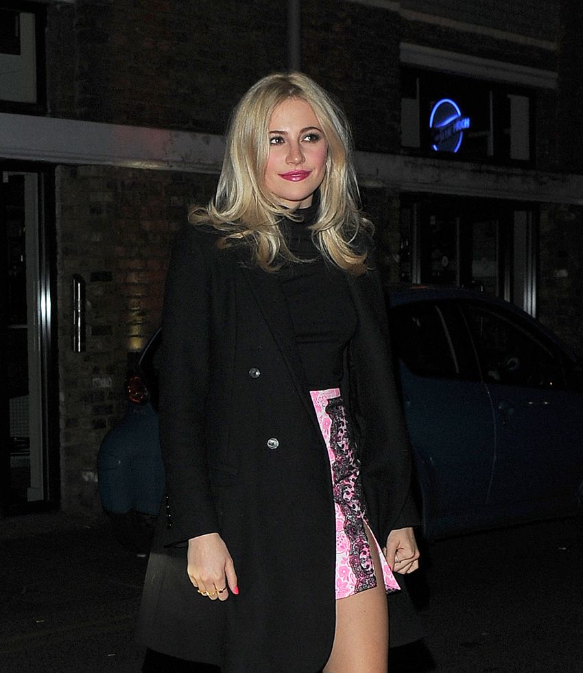 Pixie Lott at YSL Loves Your Lips Party