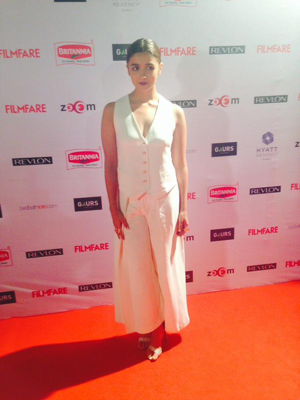 Alia Bhatt at the Filmfare Pre-Awards night party