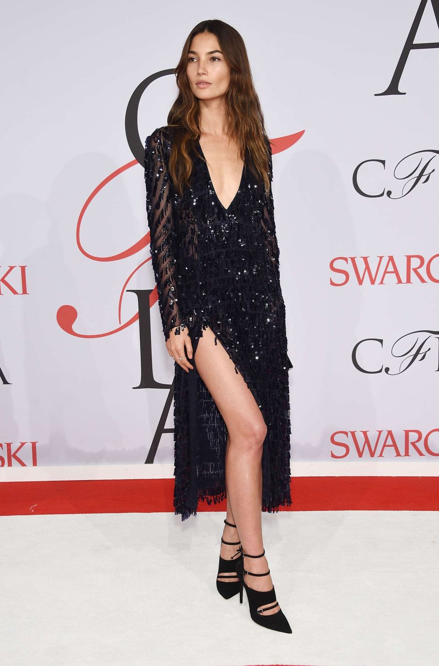 Lily Aldridge - 2015 CFDA Fashion Awards in NYC