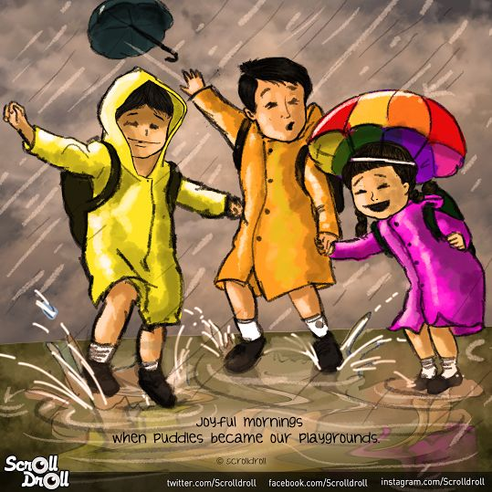 Monsoon and Childhood Memories