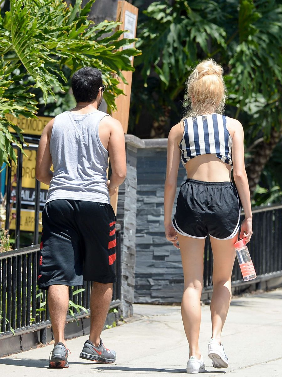 Pixie Lott Out for Morning Jog in LA