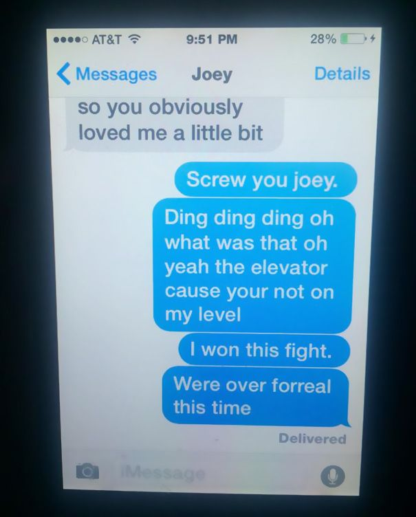11-Year Old Girl's Epic Break-Up Text