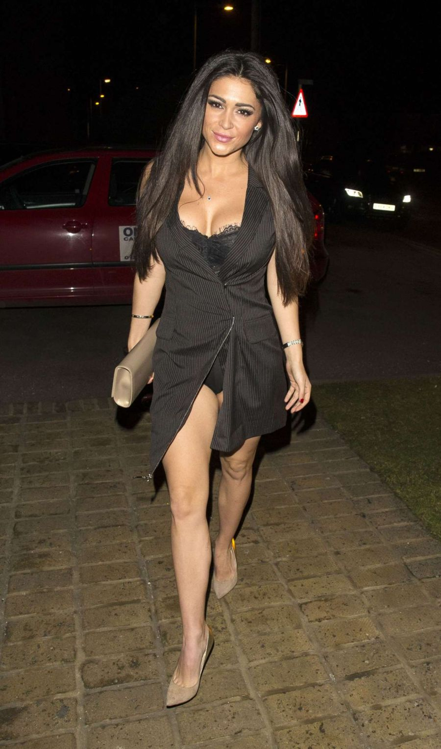 Casey Batchelor at 'Bonded By Blood' Wrap Party in Essex