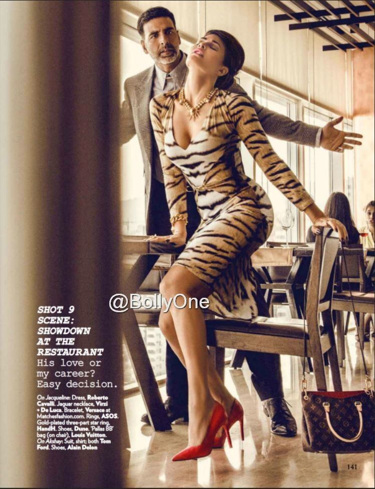 Jacqueline Fernandez, Akshay & Sidharth at Vogue Magazine