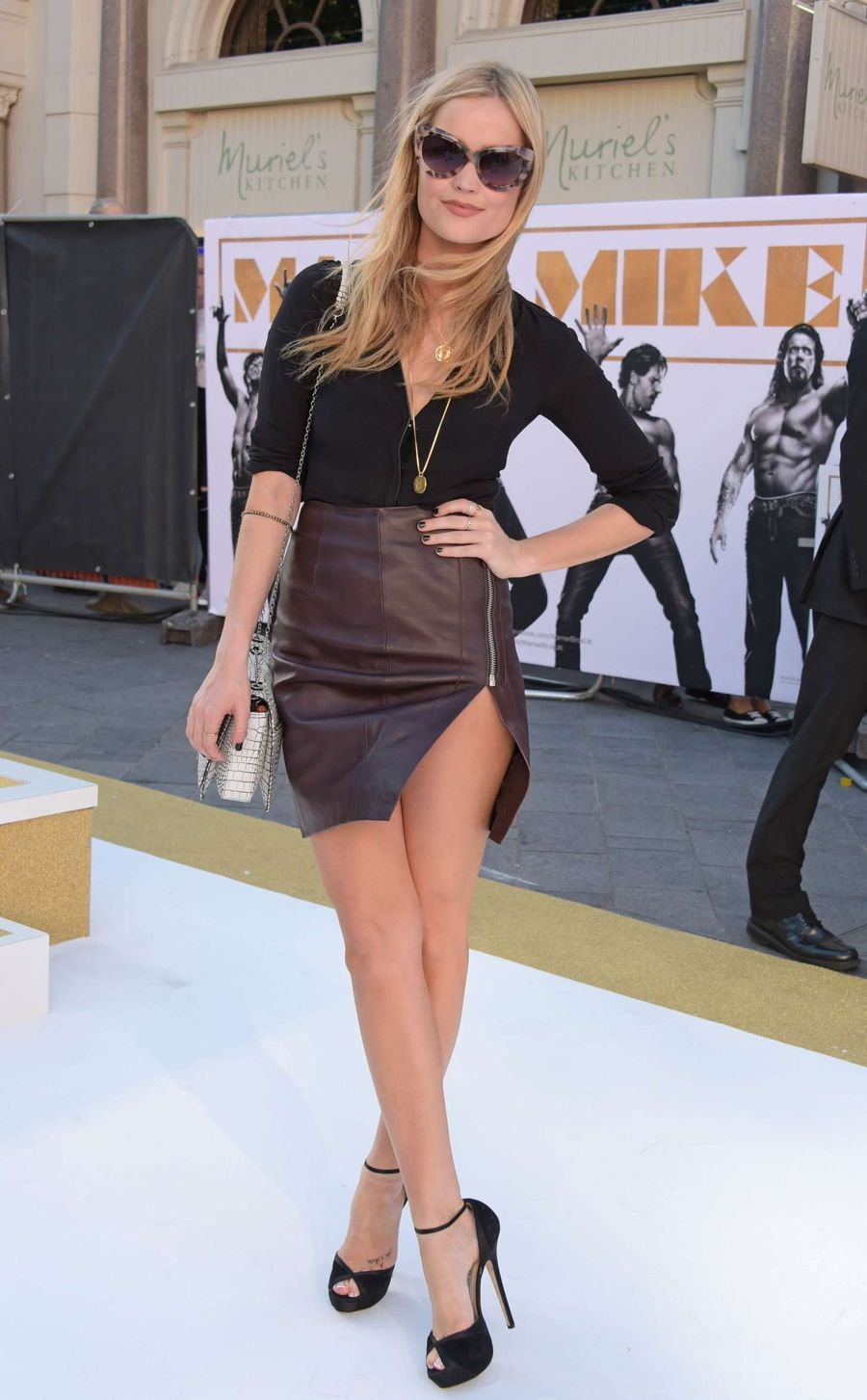 Laura Whitmore Hosts 'Magic Mike XXL' Premiere in London