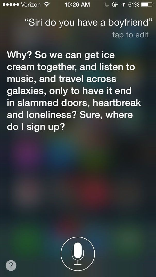 Hilarious Answers From Siri To Strange Questions