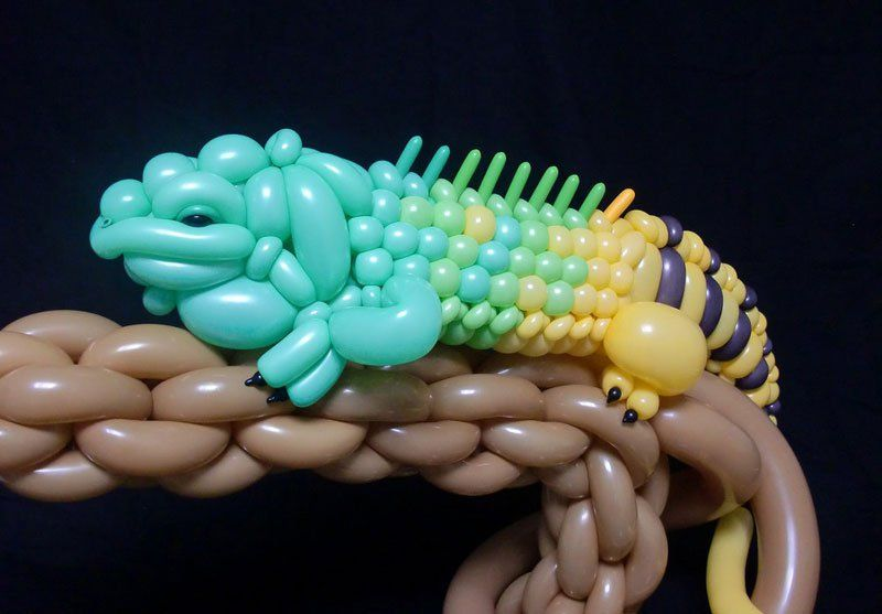 Amazing Balloon Animals of Masayoshi