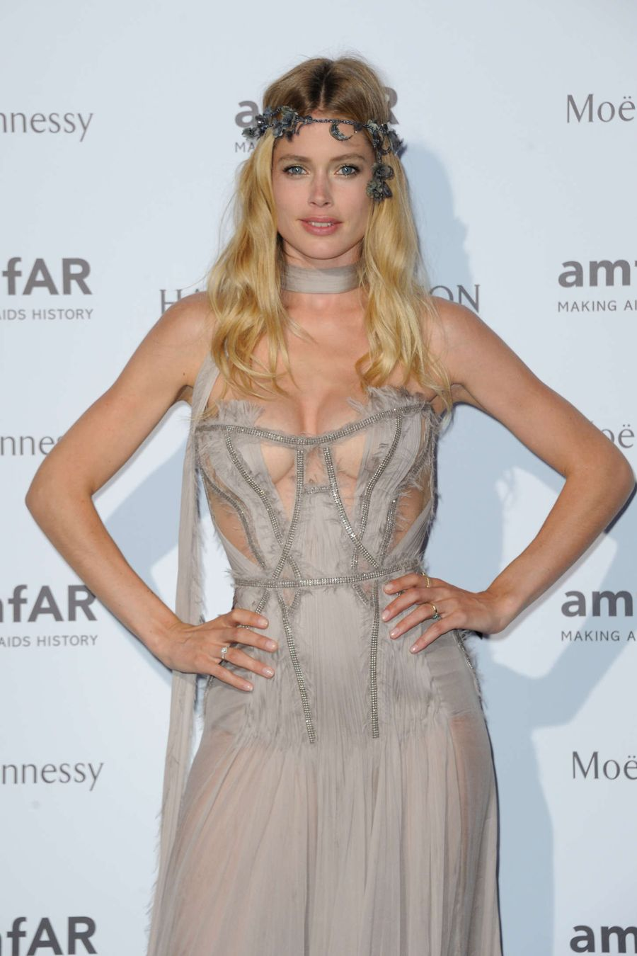 Doutzen Kroes - amfAR Dinner in Paris