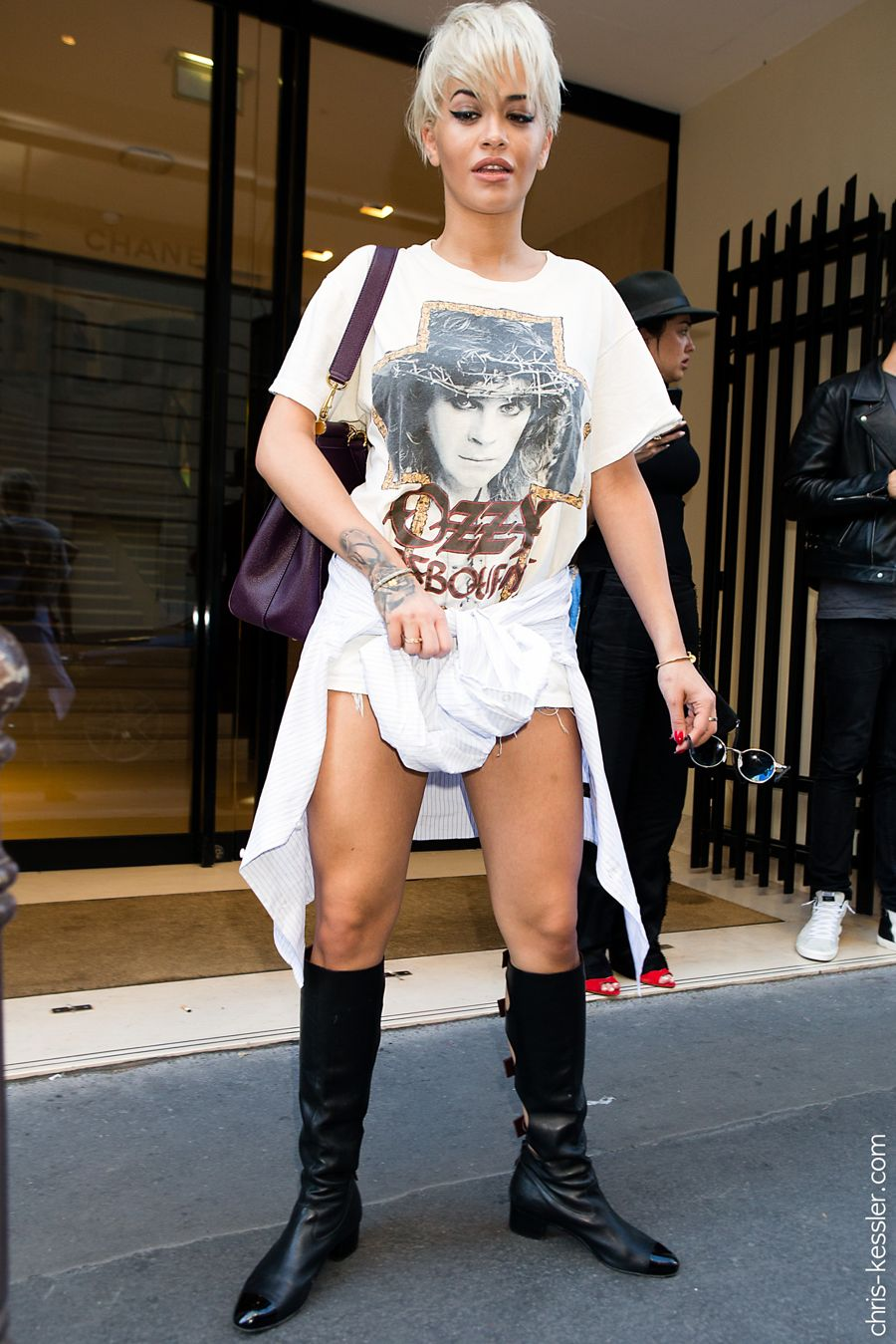 Rita Ora ditches X Factor for Paris Fashion Week
