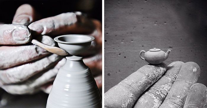 Incredibly Tiny Pottery By Hand