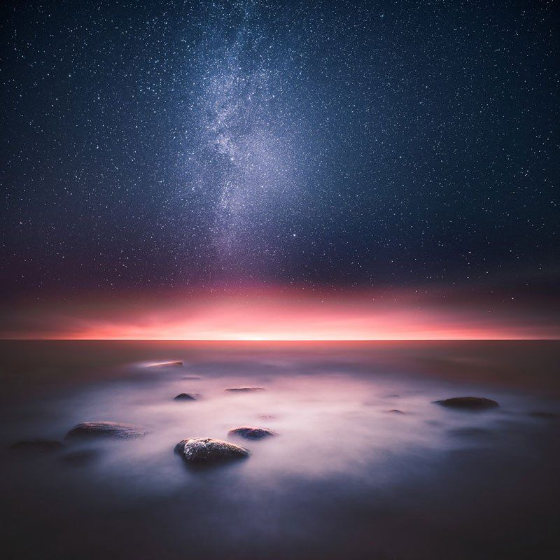 Mystical Night Photography from Finland