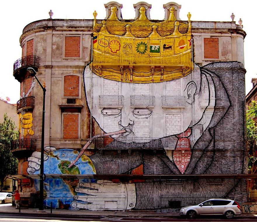 Powerful Street Art That Tell Uncomfortable Truth