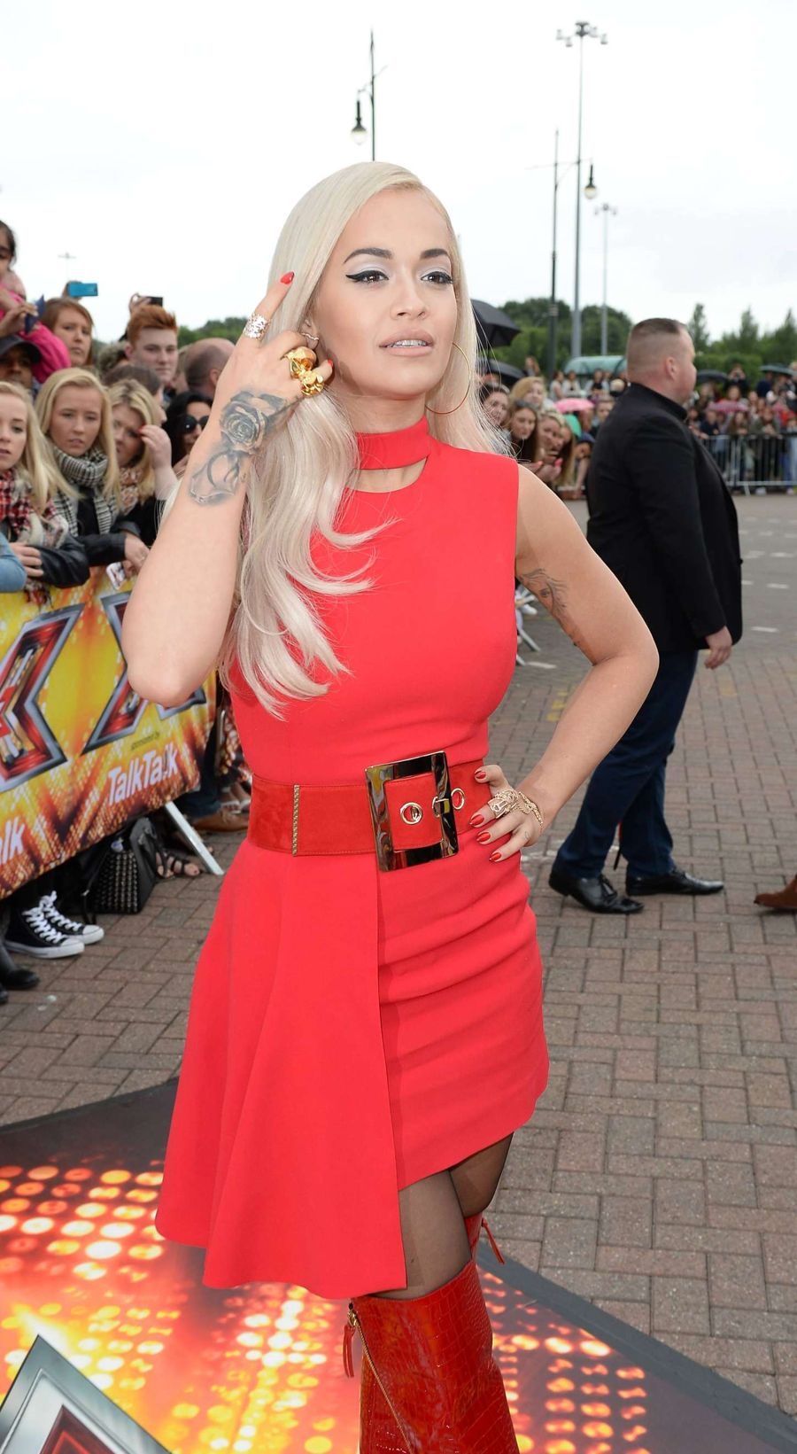 Rita Ora - The X Factor Auditions in Manchester