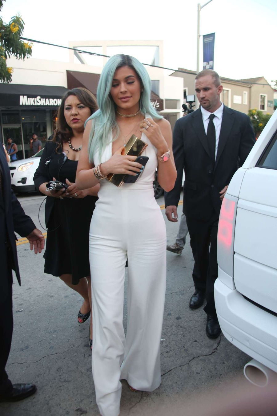 Kylie Jenner - Bellami Beauty Bar in West Hollywood