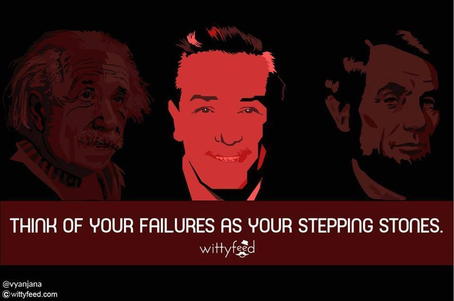 Greats Who Failed but Never Gave Up