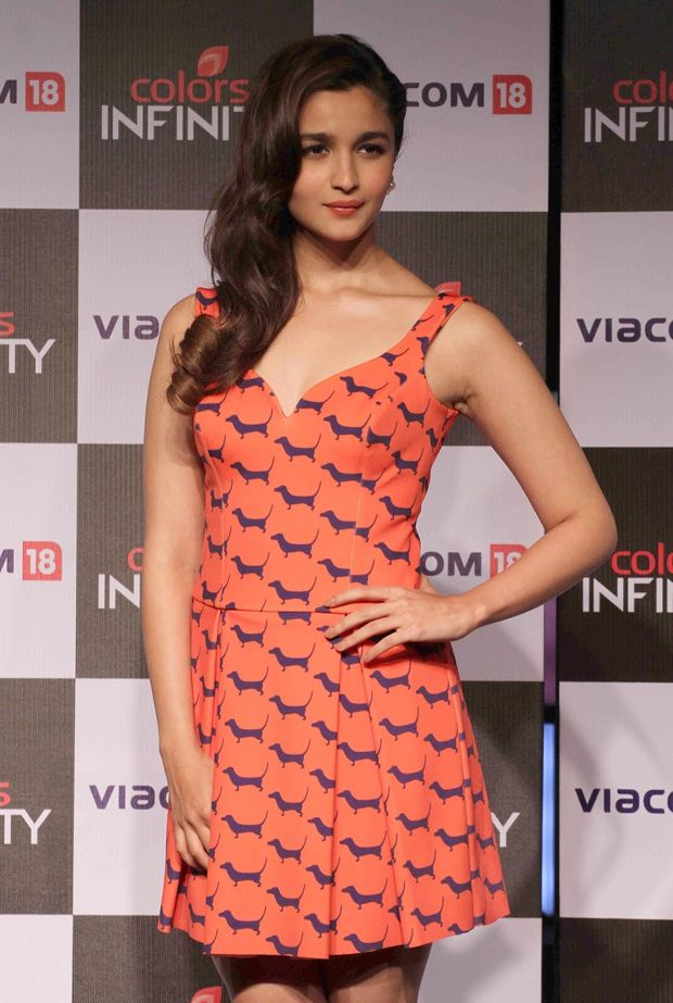 Alia Bhatt At Colors Infinity Channel Launch Event