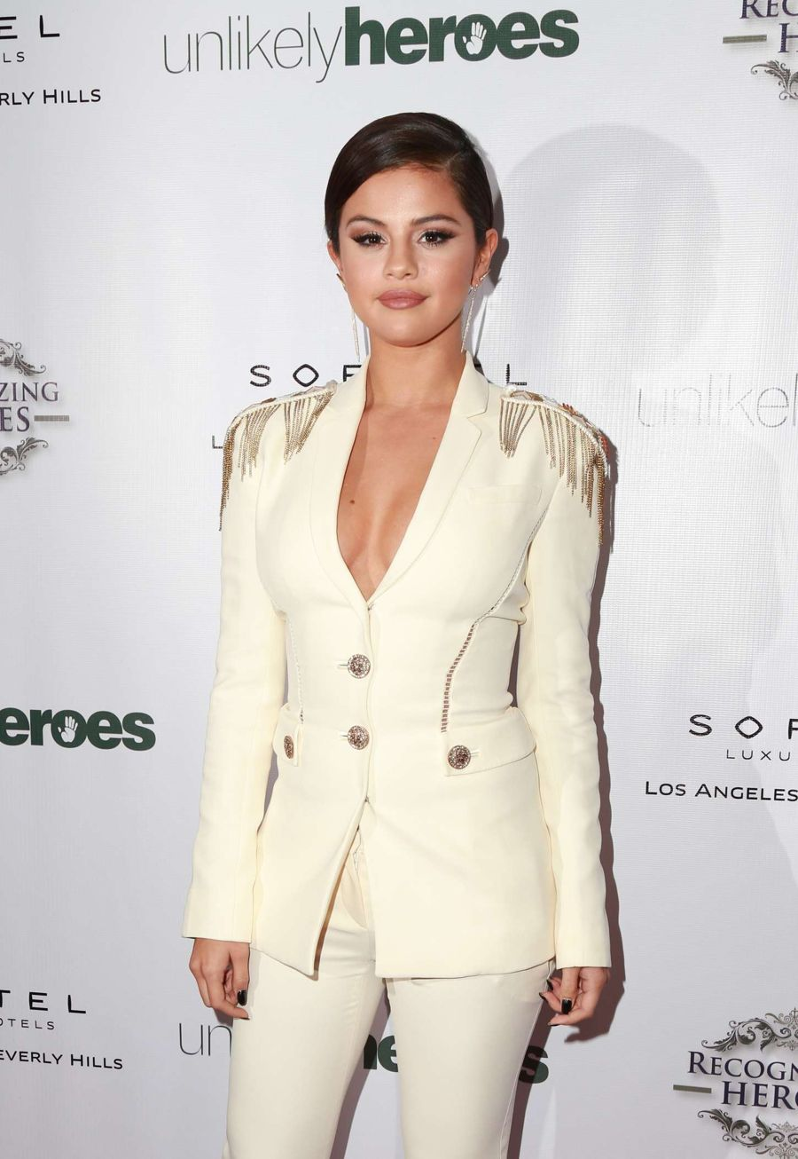 Selena Gomez at 3rd Annual Unlikely Heroes Awards Dinner