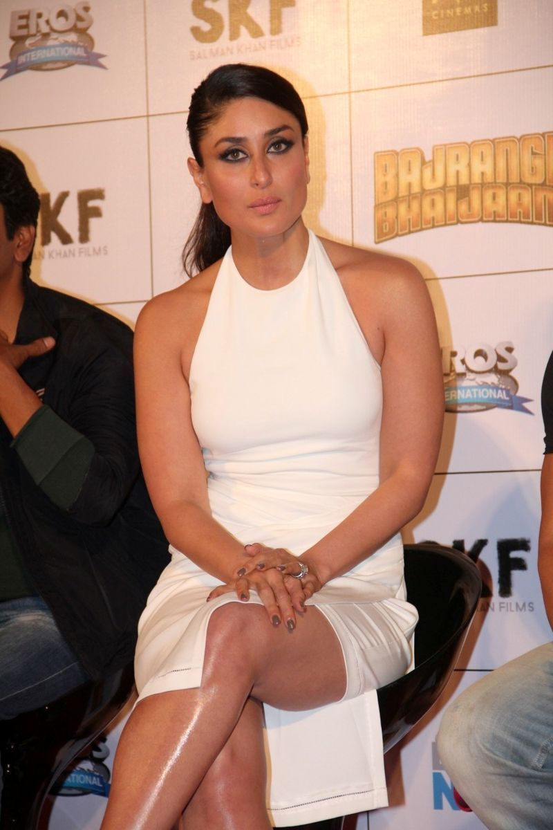 Kareena Kapoor at Press Conference at 'Bajrangi Bhaijaan'
