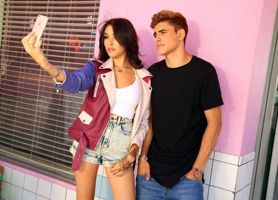 Madison Beer - Set of 'Roll Em Up' Music Video in LA