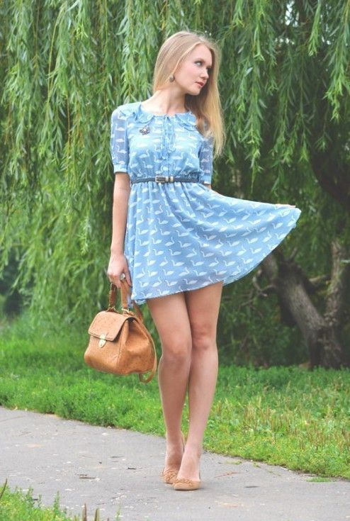 Summer Dresses And Hot Women Go So Well Together