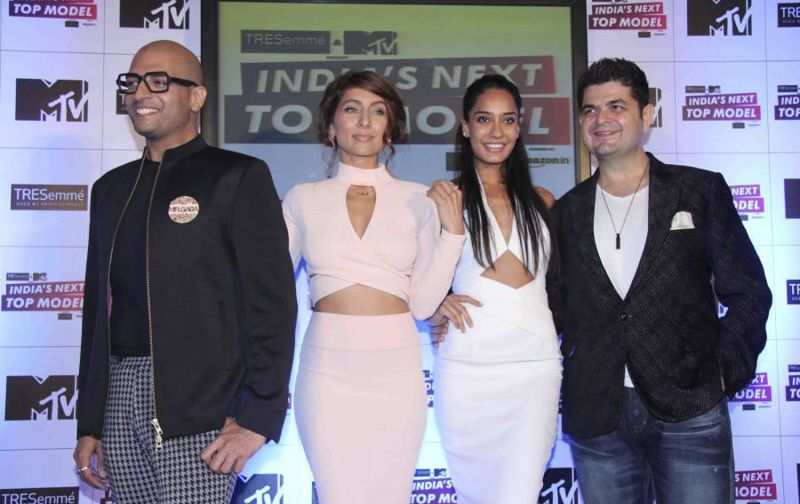 Lisa Haydon Launches MTV India Next Top Model