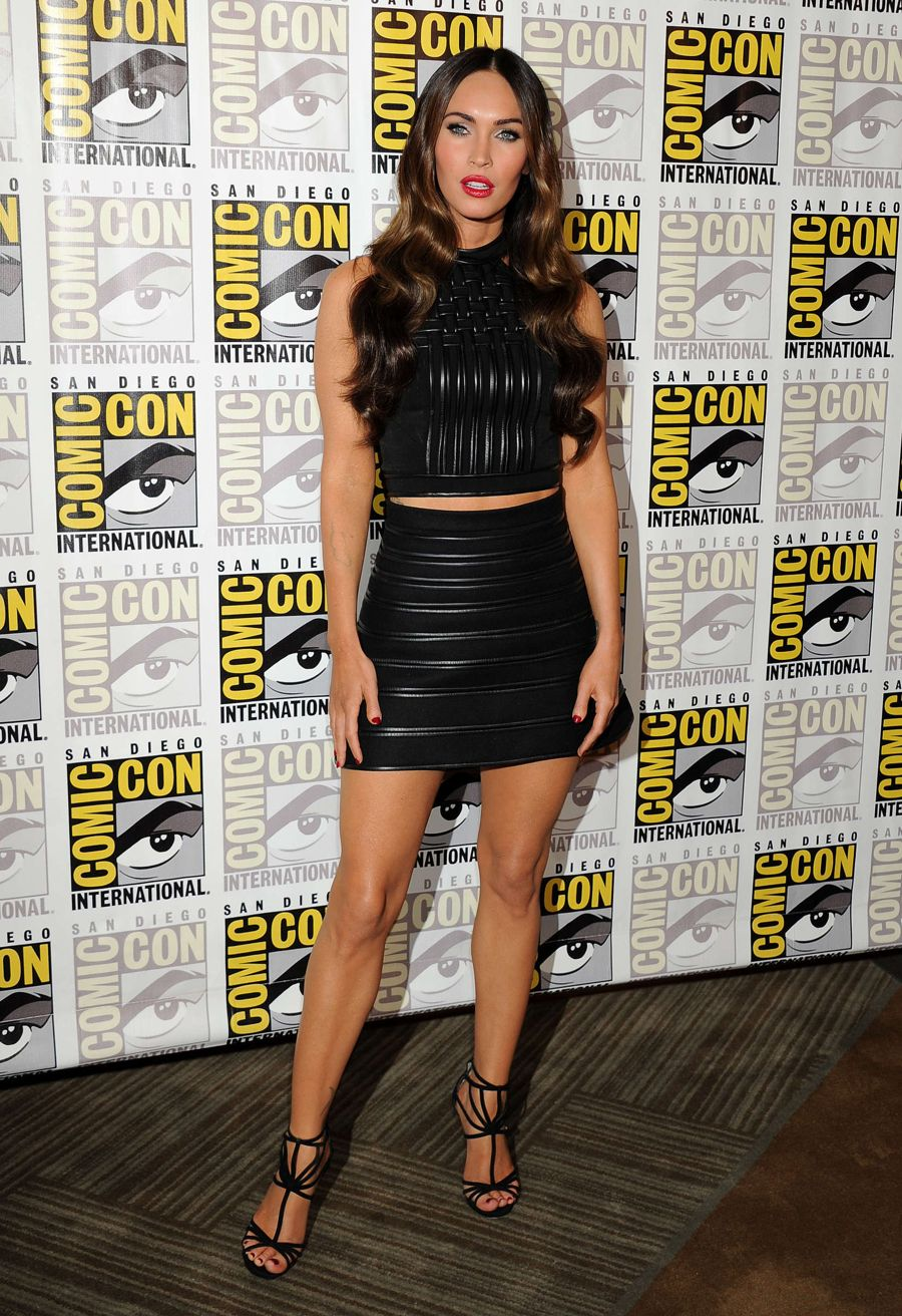 Megan Fox - Paramount Studios presentation at Comic-Con