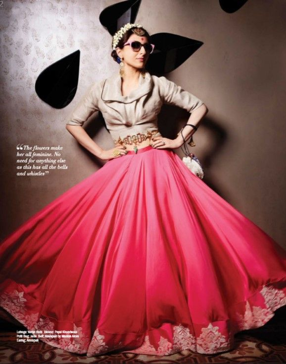 Soha Ali Khan Photoshoot for Filmfare Magazine July 2015