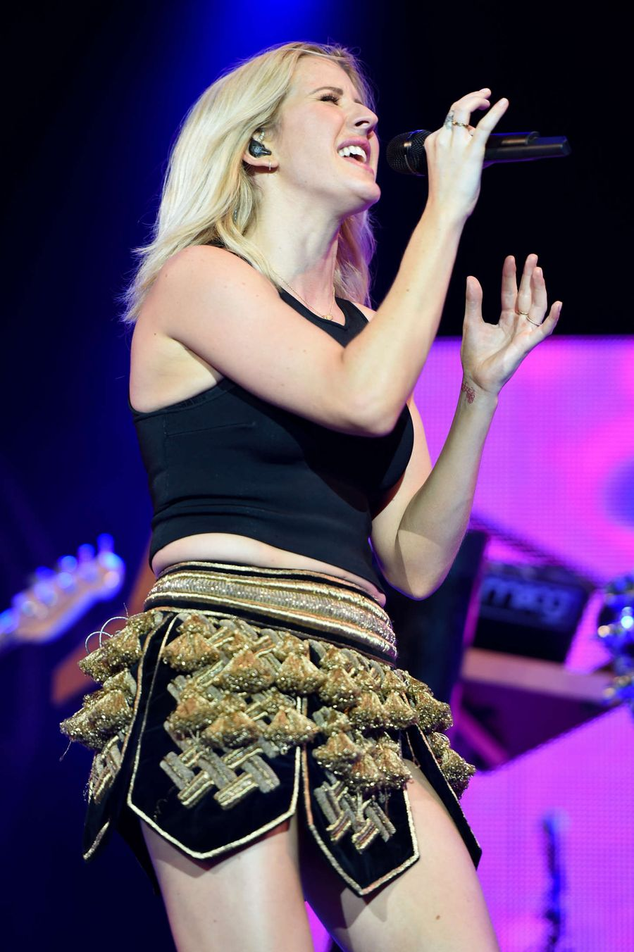 Ellie Goulding - Performs at the Gurten Festival in Bern