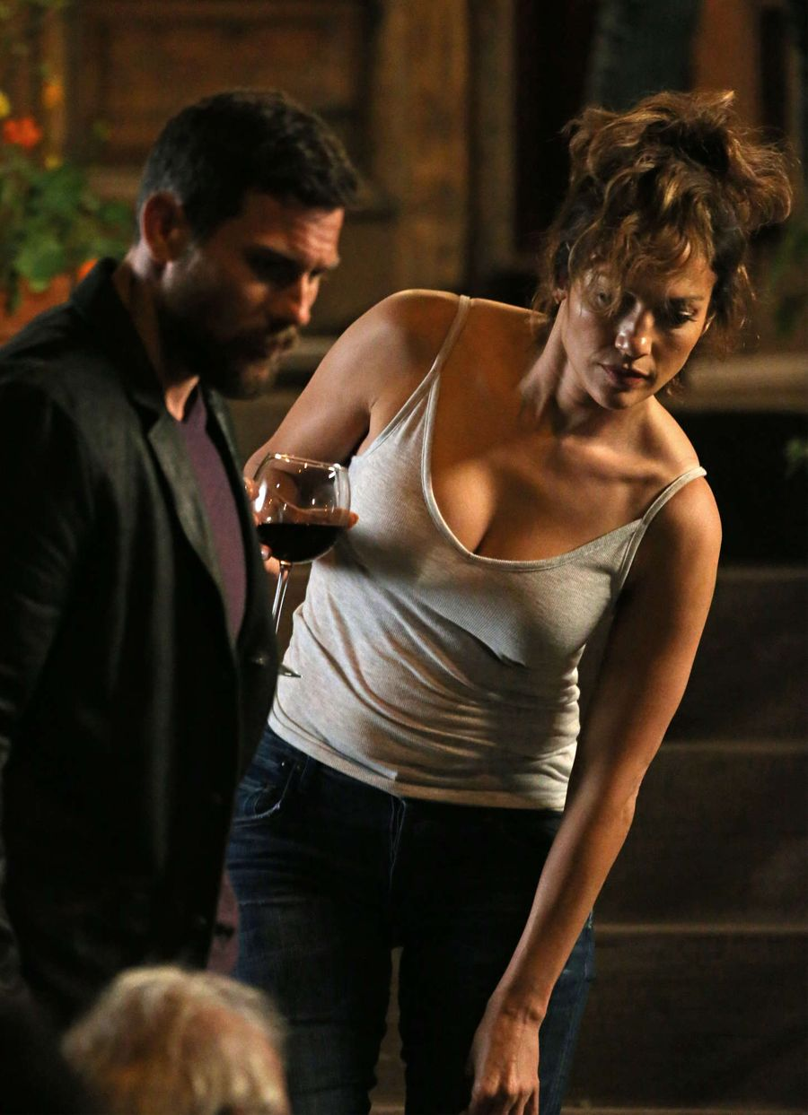 Jennifer Lopez on the set of 'Shades of Blue'
