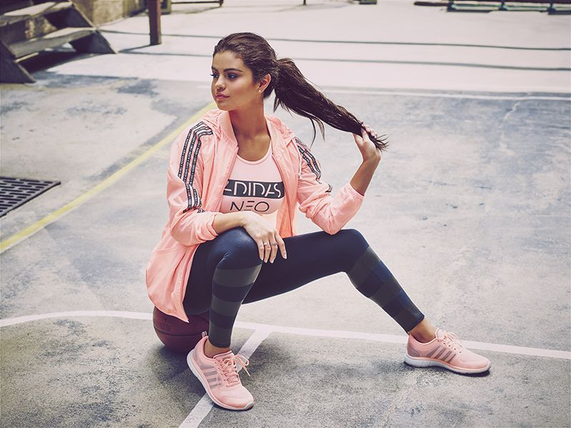 Selena Gomez - Adidas Neo Fall-Winter Collection (2015)