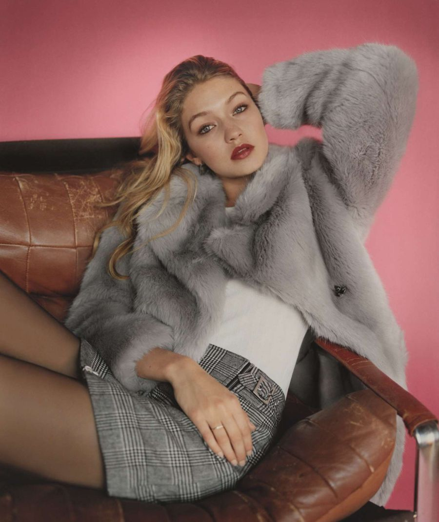 Gigi Hadid - Topshop Fall/Winter 2015 Campaign