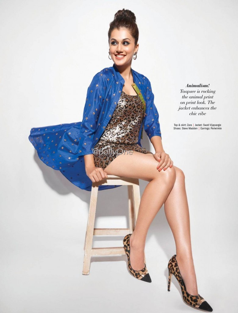 Taapsee Panu goes all girly for Filmfare Magazine