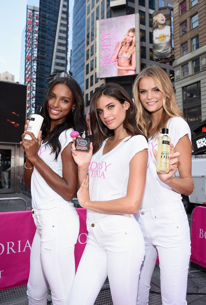Ten New 'Victoria's Secret' Angels Promote New Campaign