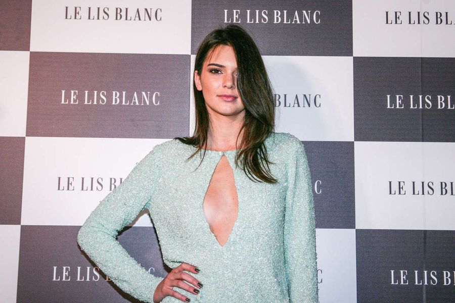 Kendall Jenner - Le Lis Blanc Party & After in Brazil