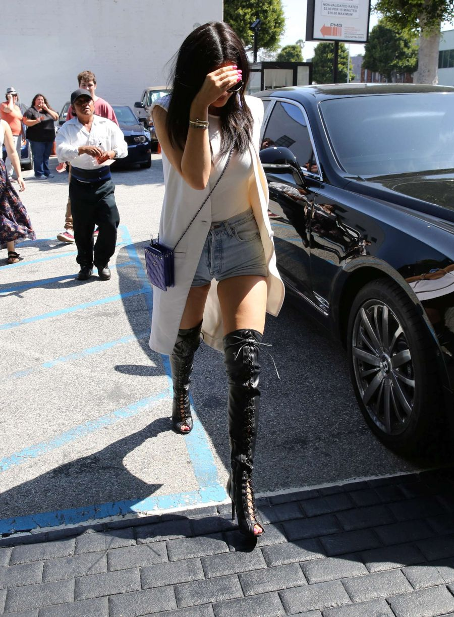Kylie Jenner - XIV Karats in Beverly Hills