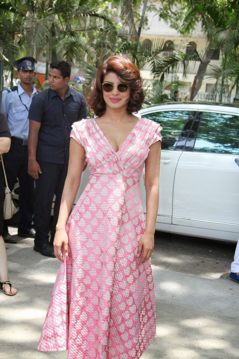 "Priyanka at a special brunch to promote ""Dil Dhadakne Do"""